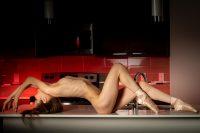 VikTory Ballerina in the kitchen
