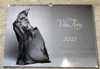 cover calendar 2021 VikTory